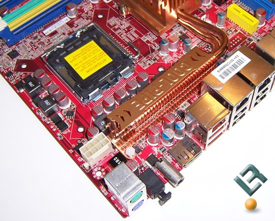 Foxconn X38A Motherboard Review CPU Socket