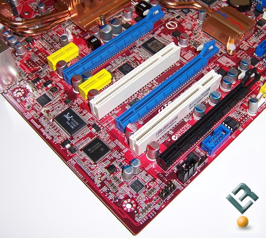 Foxconn X38A Motherboard Review Expansion Ports