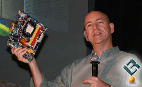 Drew Henry With the NVIDIA Gigabyte GA-M78UM-S2H Motherboard