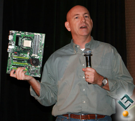 Drew Henry With the NVIDIA 780a Motherboard