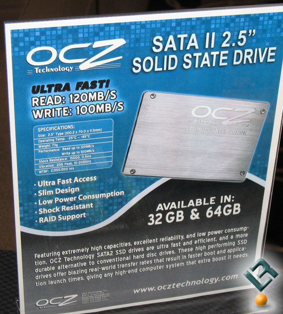 OCZ high-capacity SATAII Solid State Drives