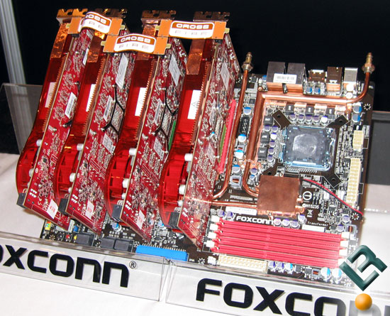 CES 2008: Foxconn Goes Extreme With Motherboards