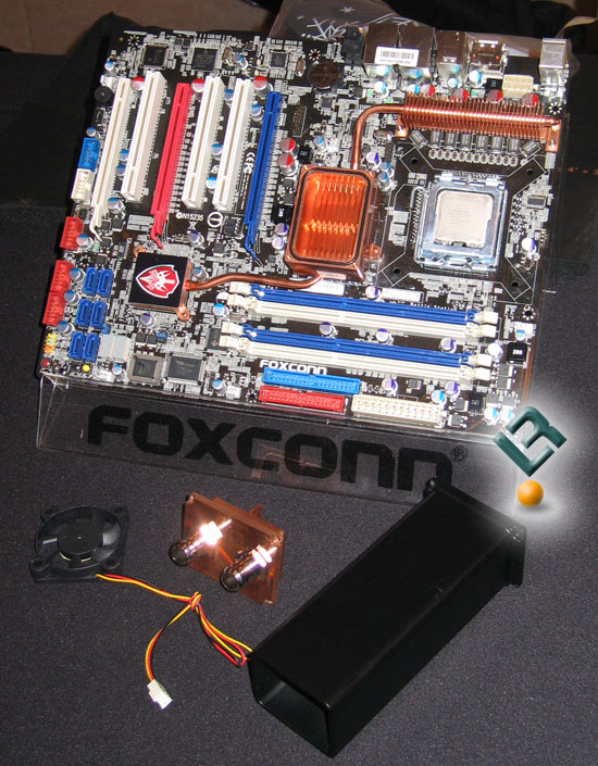 Foxconn BlackOps - Intel X48 Express Motherboard