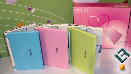 ASUS Eee PC in Colors