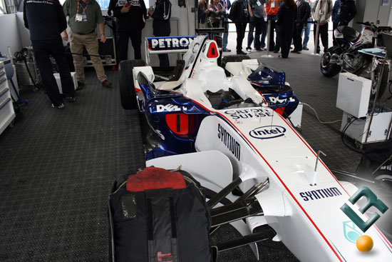 CES 2008: Intel BMW Sauber F1 Team & Carnegie Mellon's Boss