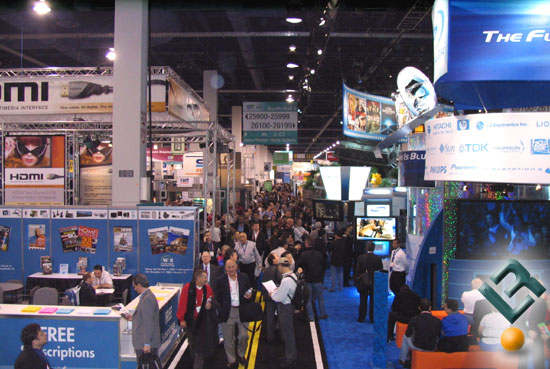 CES crowded hall