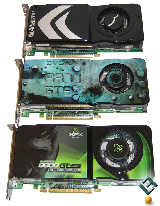 NVIDIA GeForce 8800 GTS 512MB Video Card Roundup