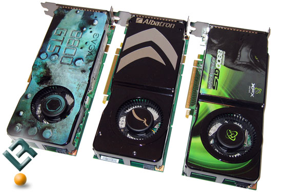 GeForce 8800 GTS 512MB Roundup – Albatron, eVGA and XFX