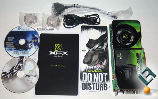 XFX GeForce 8800 GTS 512MB Video Card - PV-T88G-YDD4