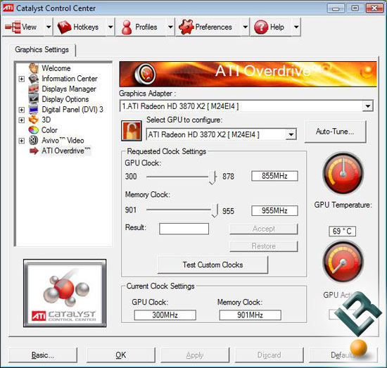 Overclocking The ATI Radeon HD 3870 X2 Video Card