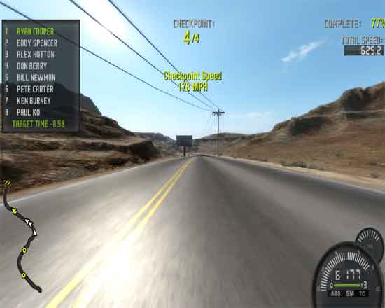 Need For Speed Pro Street Benchmarking