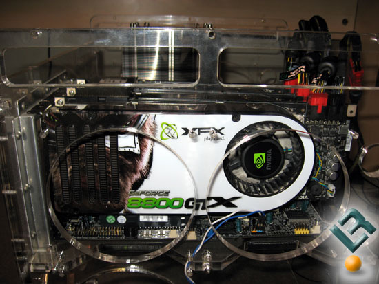 XFX 8800 GTX in triple sli configuration