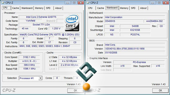 CPU-Z Settings