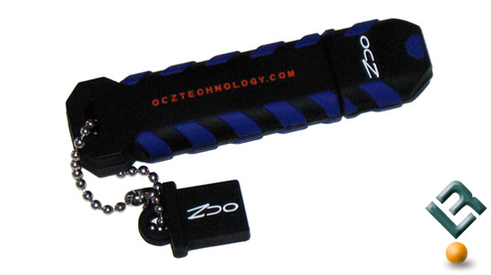 OCZ 32GB ATV Flash Drive Back