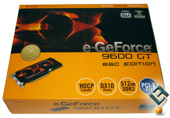 EVGA GeForce 9600 GT 512MB Video Card