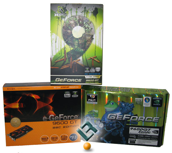 NVIDIA GeForce 9600 GT Video Card Retail Boxes