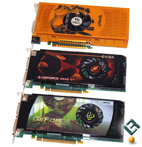 NVIDIA GeForce 9600 GT Retail Video Cards