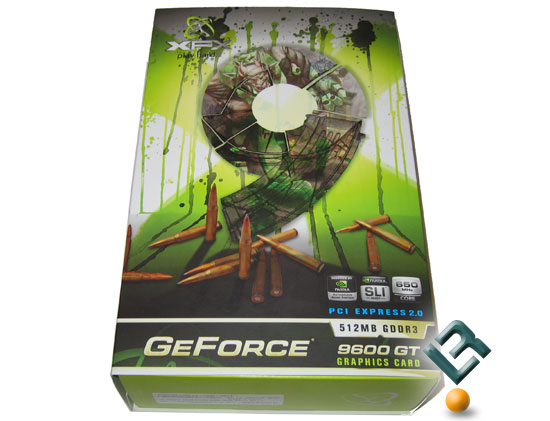 XFX GeForce 9600 GT 512MB Video Card