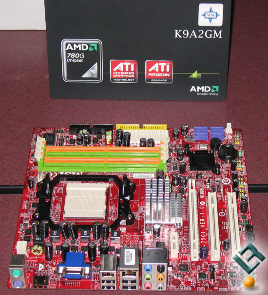 MSI K9A2GM Motherboard