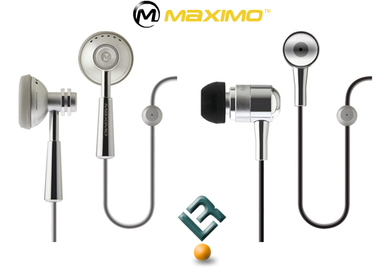 Maximo iMetal iP-HS1 & iP-HS2 Headsets for iPhone Users