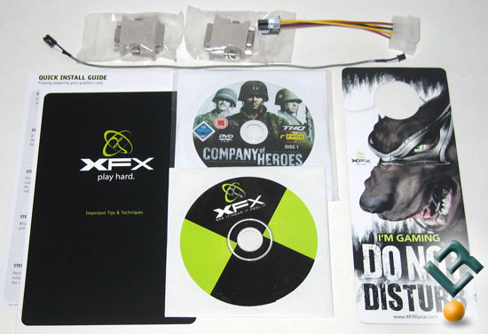 XFX GeForce 9800 GX2 Video Card Bundle