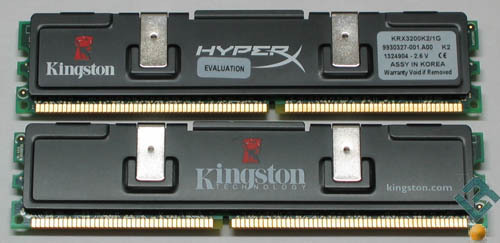 HyperX 1GB DDR400 Registered Memory