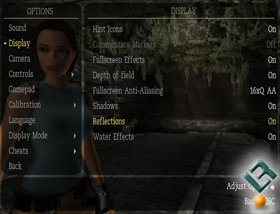 Tomb Raider: Anniversary Benchmark Settings