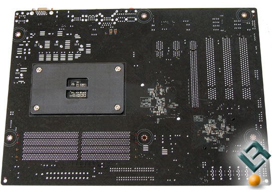ECS A780GM-A motherboard Back