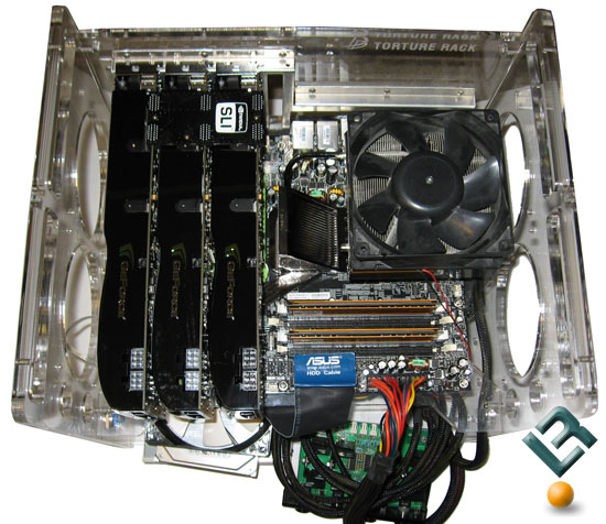 NVIDIA 3-Way SLI With GeForce 9800 GTX Graphics Cards