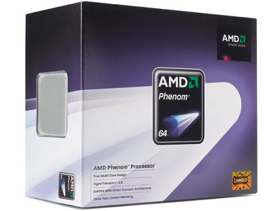 AMD Phenom X3 8750 Triple Core Processor
