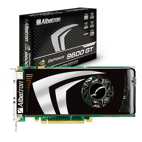 Albatron GeForce 9600GT-512X Video Card Review
