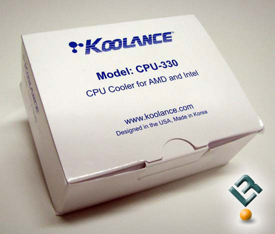 Koolance CPU-330 Box