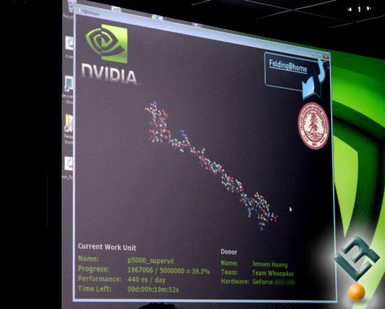 F@H on NVIDIA GeForce Video Cards - Client Window