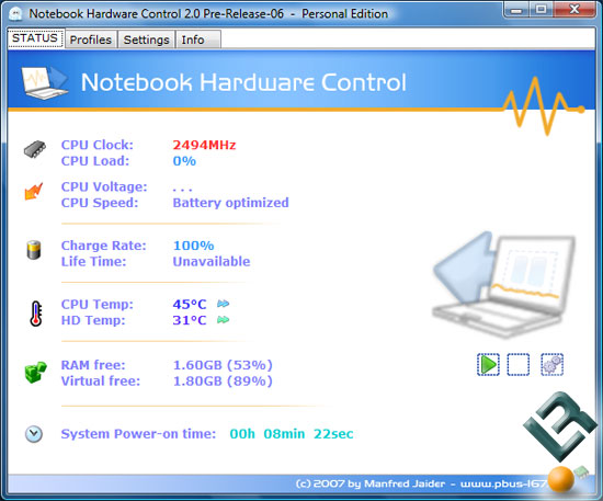 Hypersonic AG2 Notebook Touchpad