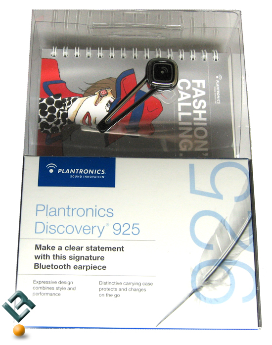 Plantronics Discovery 925 Bluetooth Earpiece