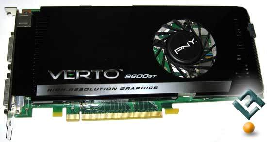 PNY Verto GeForce 9600 GT Video Card Review