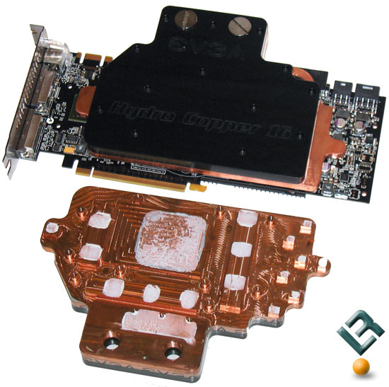 EVGA GeForce GTX 280 Graphics Card SLI Waterblock