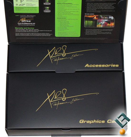 PNY GeForce GTX 280 Retail Box Inside