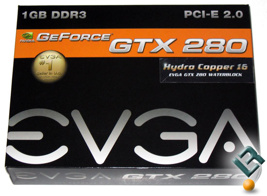 EVGA GeForce GTX 280 Graphics Card Box
