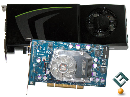 NVIDIA GeForce 9800 GTX+ with an AGEIA PhysX PCI Card