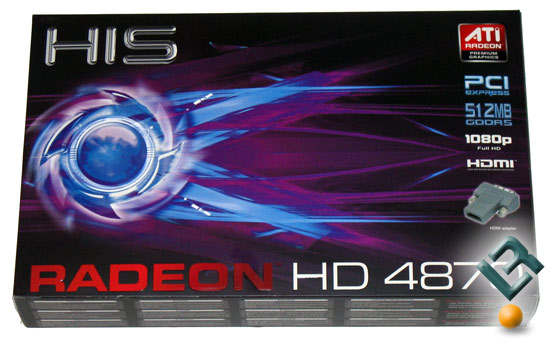 HIS Radeon HD 4870 Graphics Card Retail Box