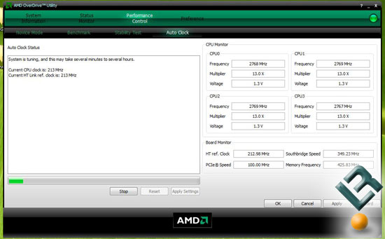 AMD Phenom X4 9950 Processor Overclocking