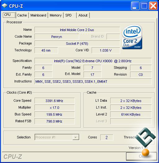 Dell M1730 BIOS Overclocking