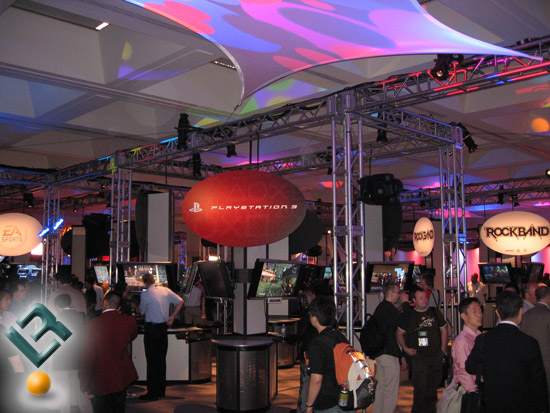 E3 2008 Showcase Floor