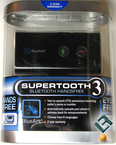 BlueAnt Supertooth 3 Retail Box