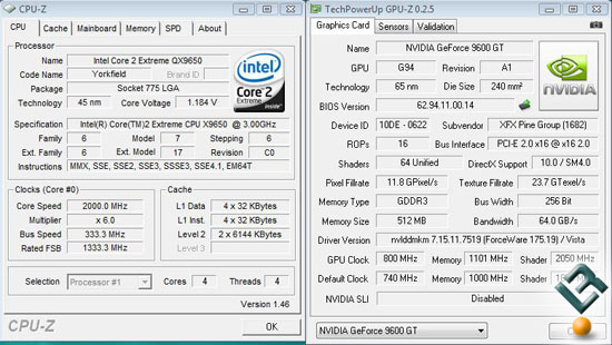 XFX 9600GT Overclocked