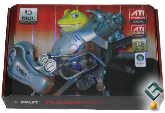 The Palit Radeon HD 4870 X2 Retail Box