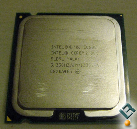 Intel E8600 Review