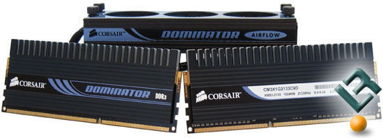 Corsair 2GB DOMINATOR DDR3 2133MHz Memory Kit
