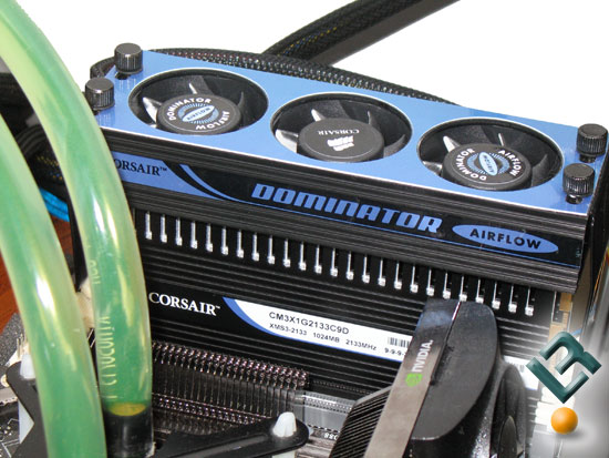 Corsair Dominator DDR3 2133MHz Memory Kit Installation